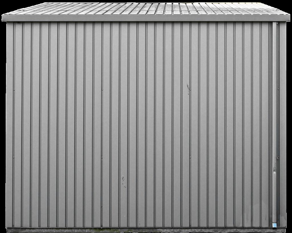 isoler un abri de jardin en métal