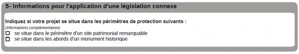 cadre n°7 pour remplir une déclaration préalable de travaux